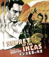 Secret of the Incas [Blu-ray]