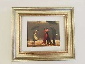 Singing Butler Jack Vettriano Framed and Mounted Art Print Chunky Silver Frame
