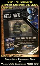 More details for star trek shipyards starfleet starships 2151-2293 - book & model uss enterprise