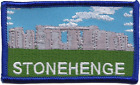 Stonehenge Monument Wiltshire County Embroidered Patch - SOUTH WEST SELLER