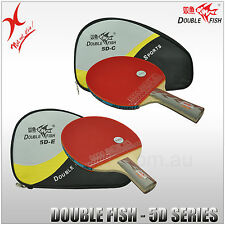 DOUBLE FISH TABLE TENNIS - 5D SERIES BAT - LONG HANDLE / SHORT HANDLE BLADE