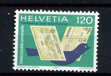 Switzerland Int Orgs 1983 SG#LP14 UPU Carrier Pigeon MNH #A27748a