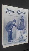Revista Semanal Dibujada París Que Canta N º 93 Oct 1904 ABE