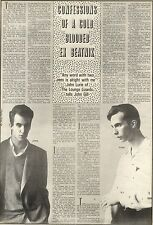 20/6/1981Pg32 Article & Picture, John Lurie Of The Lounge Lizards