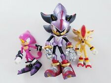 lot of 3 Jazwares Sonic The Hedgehog Black Knight Shadow Action Figure SEGA Toy
