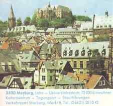 Marburg Ganzsache eingedruckte Briefmarke Auflage 20.000 Grub a. Forst 9.6.1976