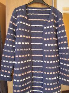 Damen Strickjacke Größe 36/38 (Handgestrickt, Unikat, Wolle