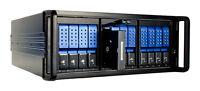 12-bay Trayless Hotswap SAS / SATA Rackmount JBOD Enclosure