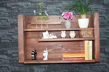 Küchenregal Gewürz Regal  braun Shabby chic Nostalgie Board Vintage  Board #41