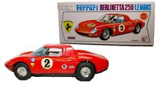 VINTAGE JAPANESE 1963 BATTERY OPERATED FERRARI BERLINETTA LE MANS W/ BOX