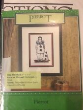 Pierrot Clown Cross Stitch Kit