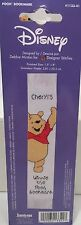 New Rare Winnie the Pooh Bookmark Counted Cross Stitch Kit Disney Sealed