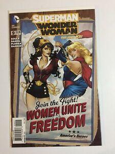 DC Comics~Superman/Wonder Woman~#9~Bombshells Variant Cover~1st Print~2014~NM