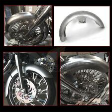 """6"""" Wide Front Fender 23"""" WHEEL 120-130 Tires Fit Harley Bagger Touring FLH FLTR"""