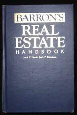 Barron'S Real Estate Handbook Hardcover 1984 Edition / Printing