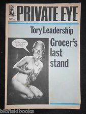 PRIVATE EYE - Vintage Satirical Political Humour Magazine - 7th February 1975