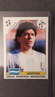 Panini Sticker World Cup Story WC 1990 Italia Sonric's MARADONA Argentina #224
