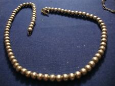 Grandmas Balls Old Pawn Western Sterling Silver Big Chunky Necklace
