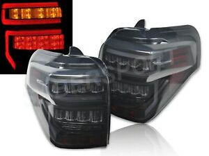 Set of Pair Eagle Eyes Black Smoke LED Taillights for 2014-2020 Toyota 4Runner