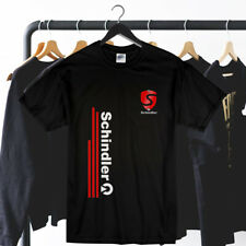 Schindler Logo New Concept T Shirt Unisex Clothing Gildan 5000 Usa Size