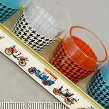 chicces Rockabilly 6er Set Schnaps Gläser im Metall Ständer mid Century 50er J.