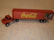 Ertl 1:64 Scale Diecast Semi Truck Coca-Cola Santa Express