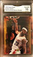 2003 Upper Deck LeBron JAMES Rookie Freshman Season GEM Mint 10 #44 MVP Lakers