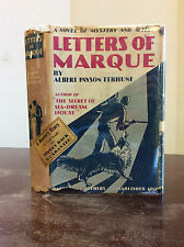 LETTERS OF MARQUE By Albert Payson Terhune - 1934, 1st ed in dj, collie mystery