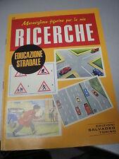 FIGURINE RICERCHE SALVADEO n. 28 EDUCAZIONE STRADALE, 1983