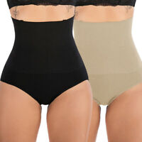 Body Shaper for Women High Waisted Tummy Firm Control Slimming Waist Panties US