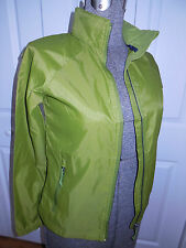 NEW LL Bean Women's packable jacket windbreaker NEW WITH TAG Hood Sz M