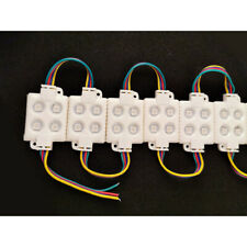 20pcs 4 LED Module 5050 RGB Sign Design 12V Waterproof window store front light