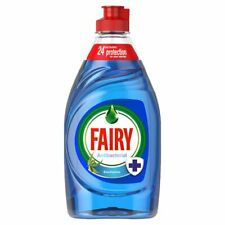 Fairy Antibacterial Washing Up Liquid Eucalyptus 2 x 383ml - FREE DELIVERY