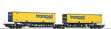 Roco Epoche VI (ab 2007) Modellbahnen der Spur H0 aus Kunststoff mit Güterwagen