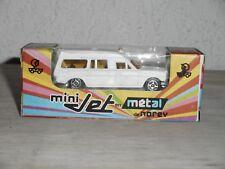 NOREV   ancien mini JET  MERCEDES AMBULANCE serie R  neuve + boite
