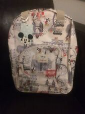 Cath Kidston Disney Mickey In London Backpack / Ruck Sack Brand New Sold Out