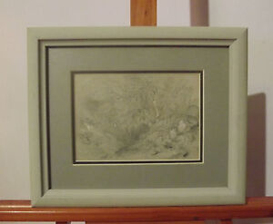 Blairlogie Scotland 1844  Pencil Drawing  Signed