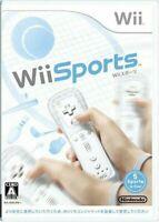 USED Nintendo Wii Sports Japanese version