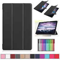 For Samsung Galaxy Tab A 8.0 10.1 10.5 9.7 Case Hybrid Leather Flip Fold Cover