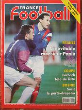 France Football N°2451 (30 mars 1993) Papin - Forbach - Bosnie - Ligue Europe