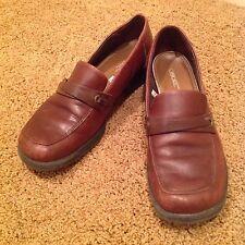 "Cherokee Sz 8.5 M Brown Leather Loafers ""Bonita"""