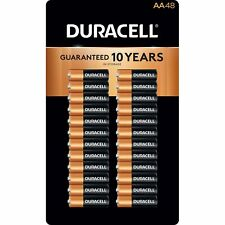 Duracell Coppertop Alkaline AA Batteries 48 pk. Sealed, Free Shipping! No Tax!