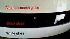 "Pvc High gloss Non Glued black/white /Antique/almond 7/8""x600' Edgebanding 050mm"