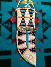 Plains Indian Beaded Knife Sheath. Cheyenne Reproduction.