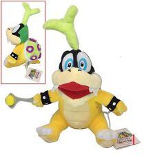 "super mario bros iggy hop koopa bowser koopalings soft plush doll 7.5"" Cute"