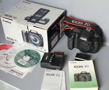 Canon EOS 7D 18.0 MP Digital SLR Camera - Battery - Charger - CF Card (102434)