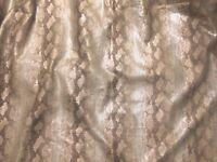 LEE JOFA GROUNDWORKS KELLY WEARSTLER Serpent Natural Linen  2+ yards new