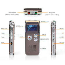 Mini 3.5mm 16GB Digital Audio Voice Recorder Rechargeable Dictaphone MP3 Player
