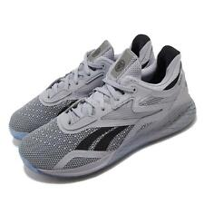Reebok Nano X Hero 10 Grey Black Men CrossFit Training Shoes Sneakers FX7950