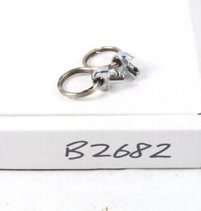 Canon AE1 strap attachment fixings - silver, Genuine Canon Part (B2682)